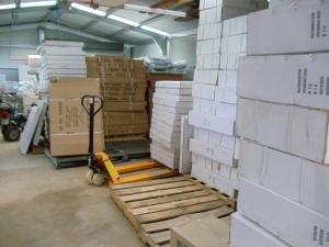Pram shipment