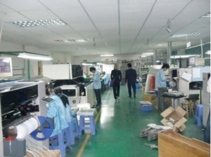 Inside John's factory in Shenzen