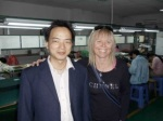 Our China assistant, John