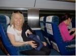 Our luxurious train trip