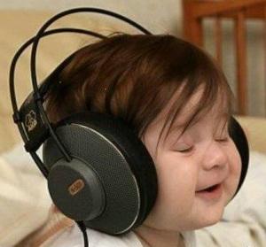 Older children may enjoy listening through headphones.