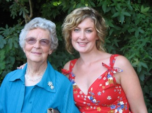 Nan and me in 2005